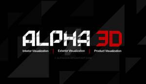 Alpha 3D Logo