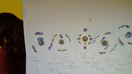 E.Ws Burst Bey stickers by warriorearthmars01