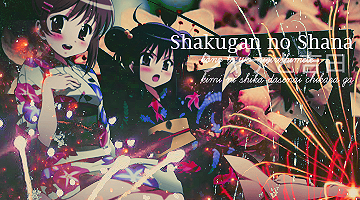 Shakugan no Shana Textura Love by Katiablue