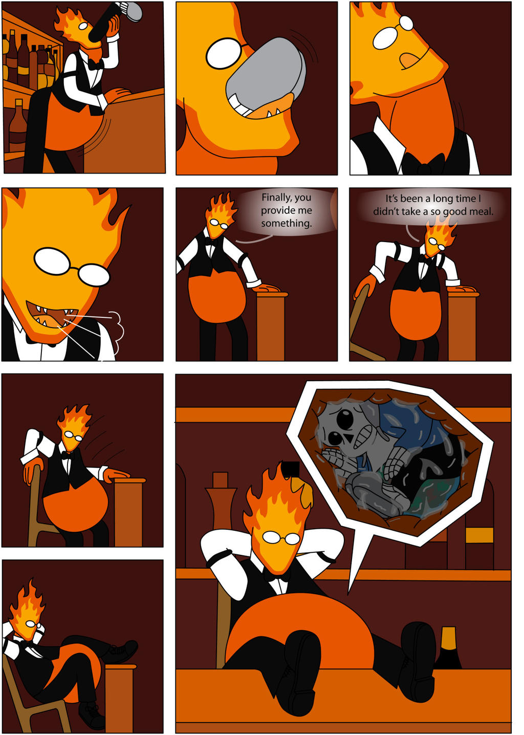 Horrortale Grillby Related Keywords Suggestions Horrortale
