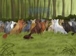 Cats of  Thunderclan