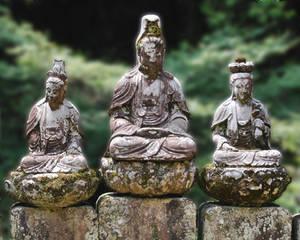 Kwannon Statues
