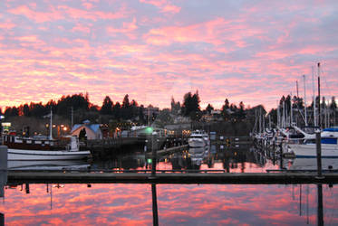 Olympia Harbor, Just Before Sunset