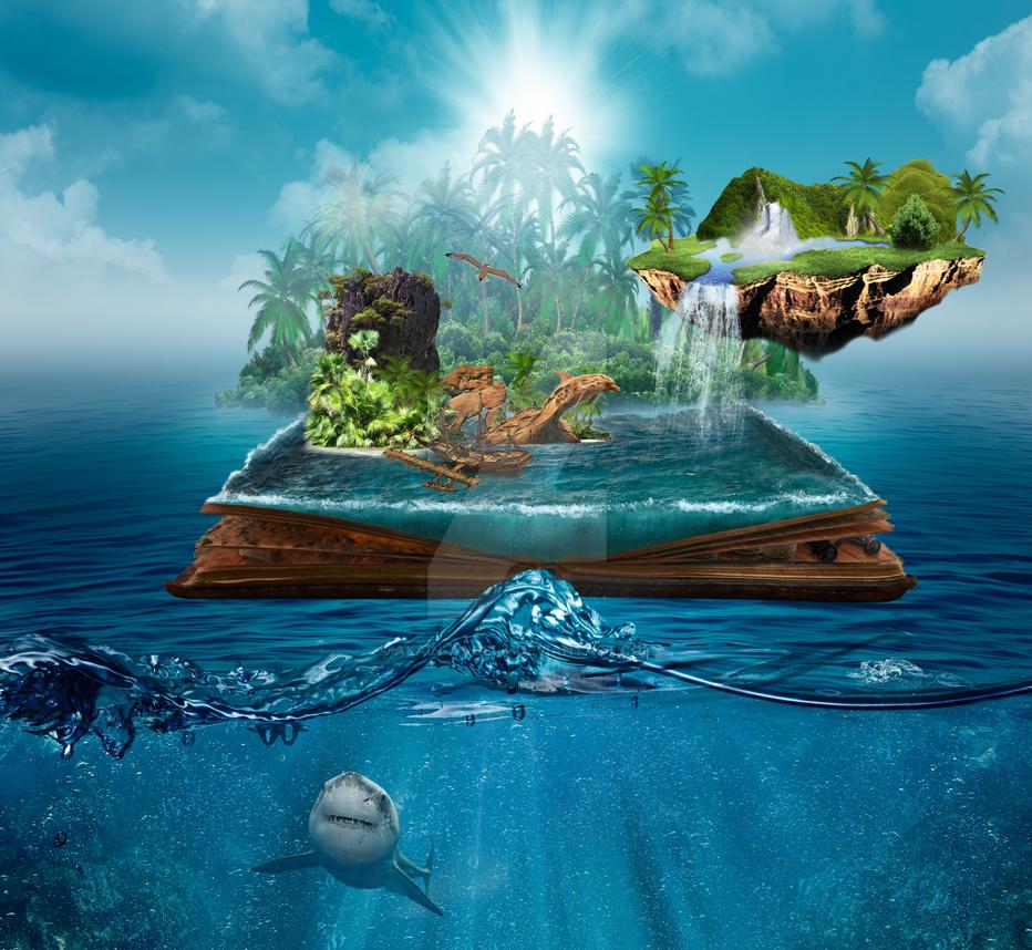 Pirate island by alain-angela