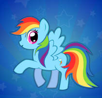 Rainbow Dash by buggzz