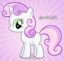 Sweetie Belle gimp drawing by buggzz
