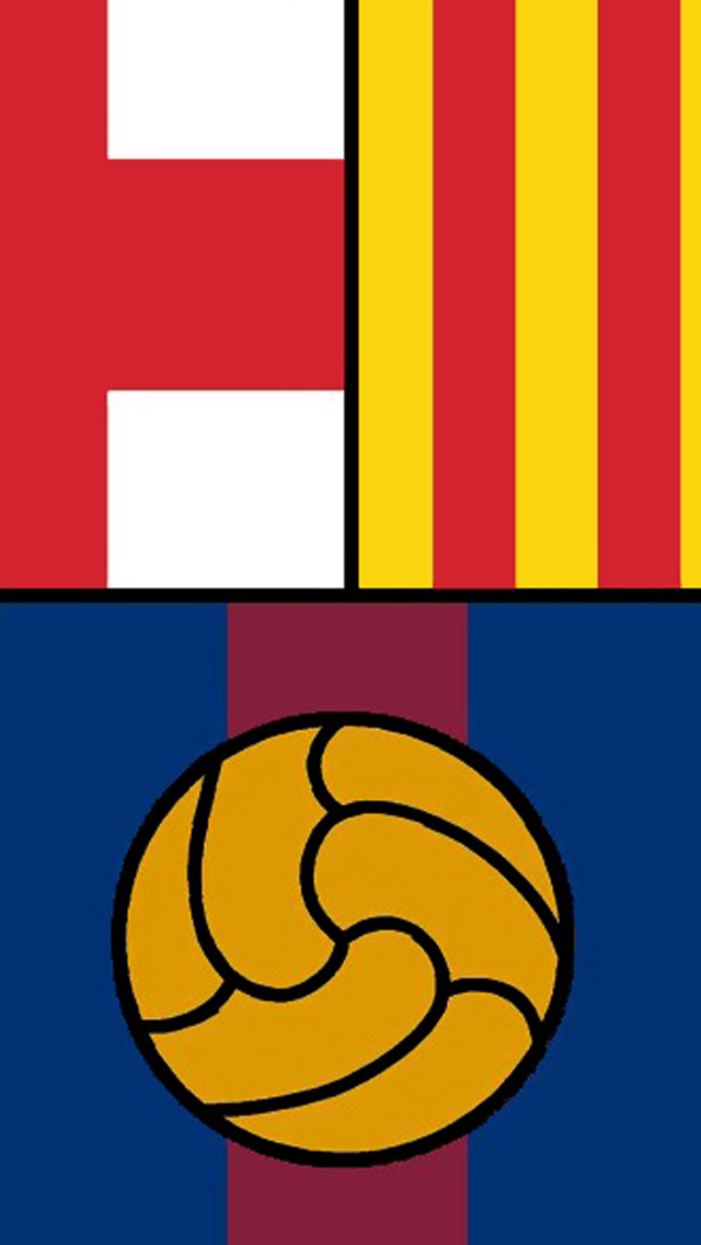 FC Barcelona - iPhone 5 Wallpaper by diorgn on DeviantArt