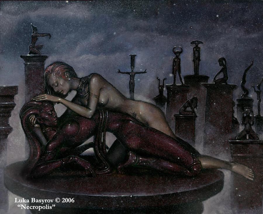 Necropolis by luka-basyrov-art