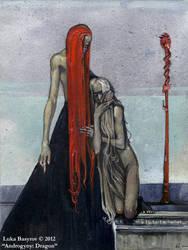 Androgyny: Dragon by luka-basyrov-art