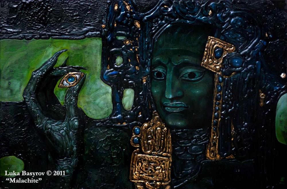 Malachite by luka-basyrov-art