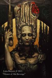 Flower of Her Revenge by luka-basyrov-art