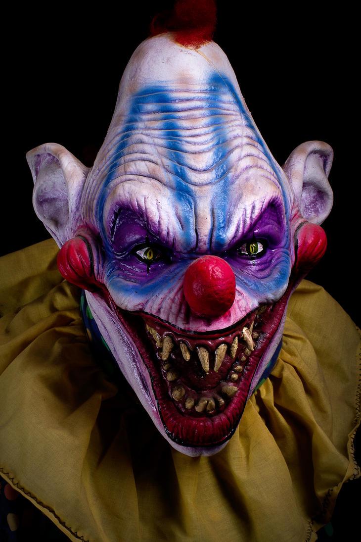 Killer Clown 2 by themortalimmortal