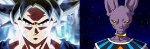 What if. UI Goku vs Beerus