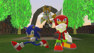 Victory for Team Sonic