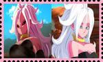 Good and Evil 21 stamp by SonGokuSSJgodssj