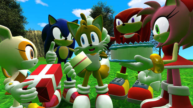 Happy birthday Miles Tails Prower 2021
