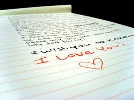 I love you by Kleo-Useless