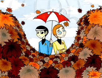 It's raining Tribbles by YumeDono