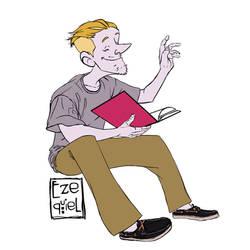 Ezequiel Tadeo Bibliotecario by Sr-LUMOS
