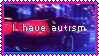 Autism Stamp by FR0NTlER