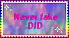 Don't Fake It Stamp by FR0NTlER