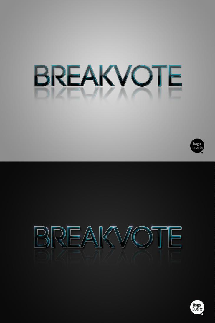 BreakVote Logo by Headz