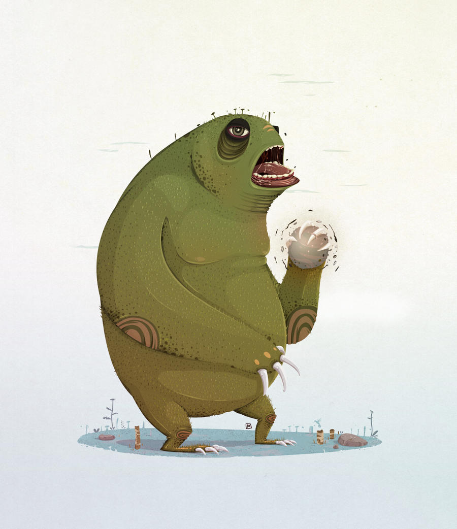 Monster Grass by GeekLangel