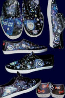 Doctor Who Vans by iamsamm1222