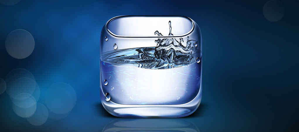 Water iOs Icon by expressivemediauk