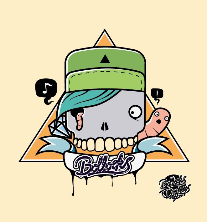 Bollocks Illustration by BazookaJuice