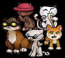 KND Sector V Kitties by DanileeNatsumi