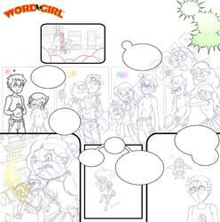 WG mini - Ladies' Man p.2 (sketch) by DanileeNatsumi