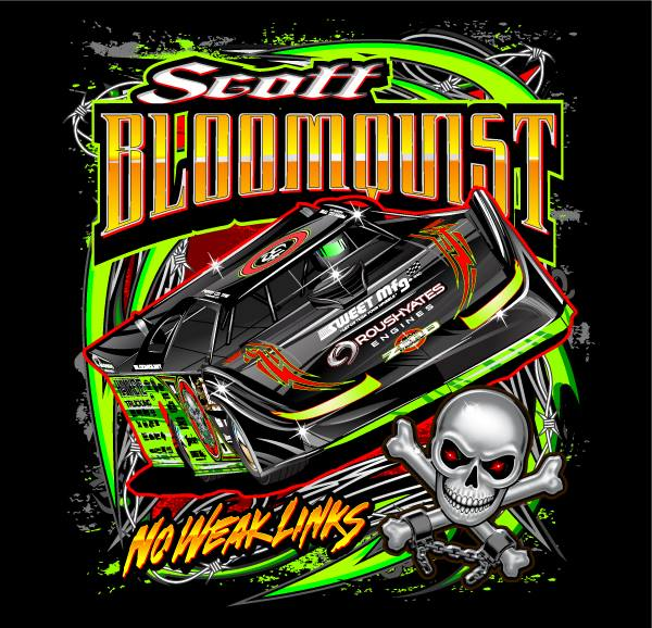 scott bloomquist t shirt by bruceb7 on deviantart Fox Racing Vector vector racing stripe designs