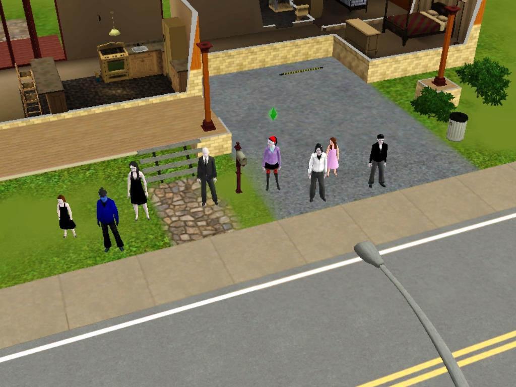 Creepypastas en los Sims 3 by Sayayin5454 on DeviantArt