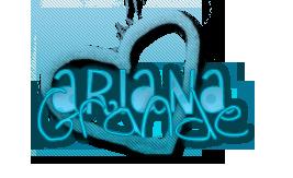 Texto png de Ariana Grande by ValeCat