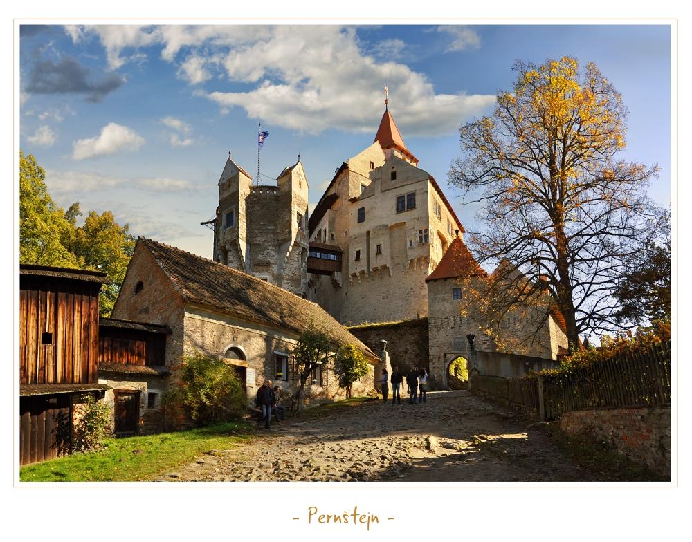 - Castle Pernstejn - by UNexperienced