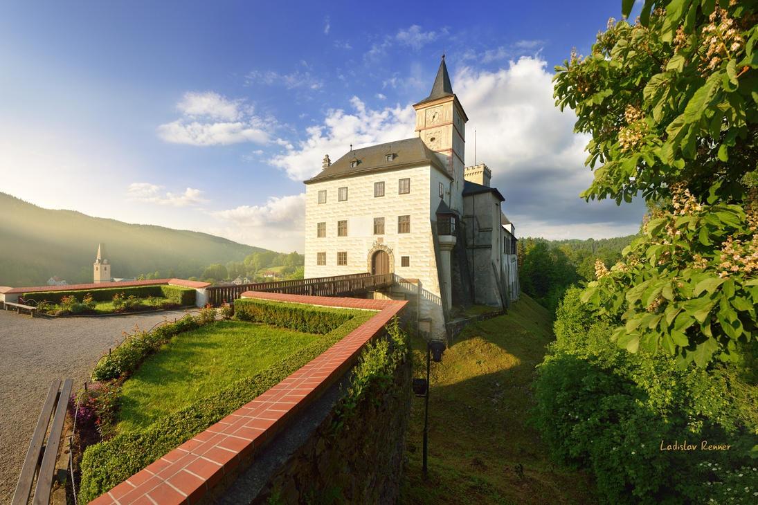 - Rozmberk castle - by UNexperienced