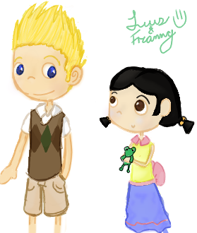 Luis and Franny by Ashy-ChanZaFerreto