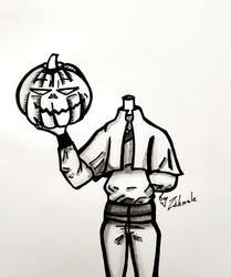 My last drawing for inktober   by Ziknale