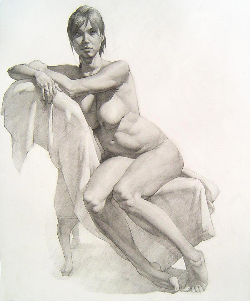 Nude Female Drawings 48