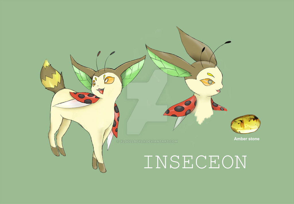Bug eevee evolution - Inseceon by xldollboylx on DeviantArt