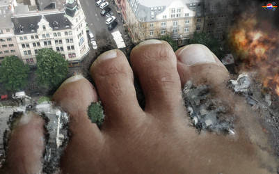 just a giantess step by megakorean