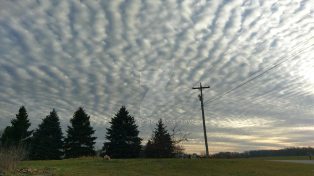 Clouded Sky by Ashhei
