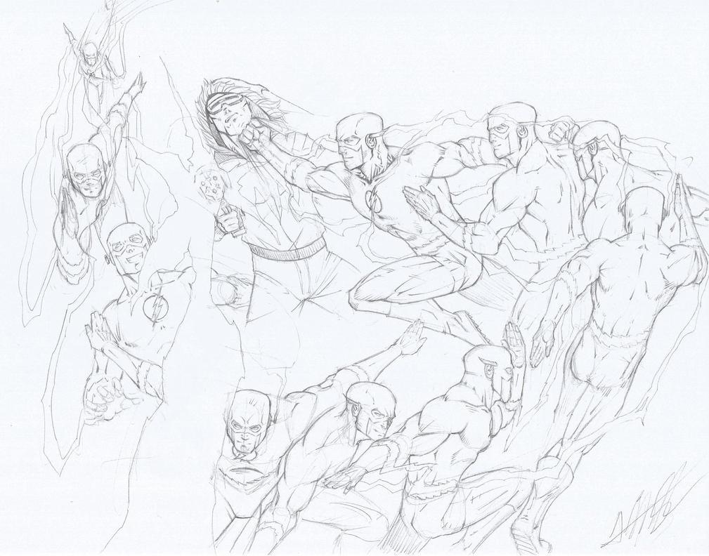 Flash/Captain Cold by Alexsl96