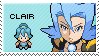 gym leader clair stamp by sable-saro