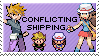 conflicting shipping stamp by sable-saro