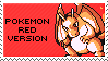 pokemon red version stamp by sable-saro
