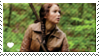 katniss everdeen stamp by sable-saro