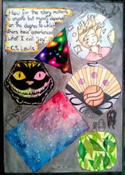 Journal decoration 2 by suraZcat