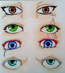 Eye practice by suraZcat